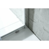 Aqualine Agga zuhanykabin, 90x90x185cm, 5mm es transzparent üveg, króm