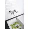 Axus Mosogató-csaptelep kihúzható zuhanyfejjel