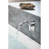 Sapho Mixona süllyesztett zuhanycsaptelep, 2-irányú váltóval, zuhanyszett nélkül, króm