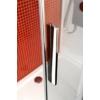 Polysan Lucis Line harmonika ajtó és oldalfal, 80 x 90 cm