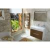 Sapho EGEON fürdőszobai radiátor, 595x1238mm, 739W, bronz