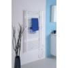 Aqualine elektromos fürdőszobai radiátor fűtőpatronnal, egyenes, 600x1320cm, 600W, fehér