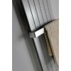 Sapho COLONNA fürdőszobai radiátor, 450x1800mm, 910W, metál ezüst