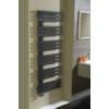 Sapho SILVANA fürdőszobai radiátor, 500x1236mm, 561W, metál antracit