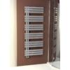 Sapho SILVANA fürdőszobai radiátor, 600x1500mm, 771W, metál ezüst
