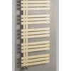 Sapho SILVANA fürdőszobai radiátor, 500x1236mm, 561W, texturált elefántcsont szín