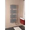 Sapho SANTINA fürdőszobai radiátor, 550x1520mm, 800W, metál ezüst