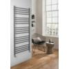 Sapho METRO fürdőszobai radiátor, 600x1510mm, 557W, metál ezüst