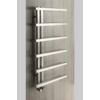 Sapho SIERRA fürdőszobai radiátor, 500x1000mm, 213W, szálcsiszolt inox