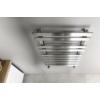Sapho TRUVA fürdőszobai radiátor, 500x750mm, 247W, szálcsiszolt inox