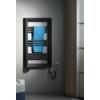 Sapho LEONTES fürdőszobai radiátor, 595x944mm, 423W, struktúrált antracit