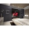 Sapho PROPOLI fürdőszobai radiátor, 650x650mm, 380W, strukturált antracit