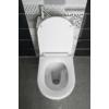 Aqualine HYGIE monoblokkos WC, alsó/hátsó kifolyású, WC-ülőkével, mosdóval