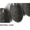 Blok kőmosdó, 60x11x35cm,matt sötét kő