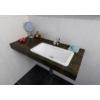 Sapho KAMA öntöttmárvány mosdó, 50x12x26cm