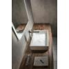 FORMIGO beton mosdó, 47,5x13x36,5cm, fehér