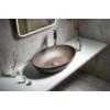 FORMIGO beton mosdó, 60x14,5x40,5cm, sötét barna