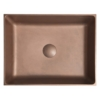 Formigo beton mosdó, 47,5x13x36,5cm, réz