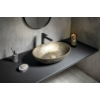 Formigo beton mosdó, 60x14,5x40,5cm, arany