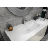 IMPALA mosdó, túlfolyó nélkül, 67,2x35,5cm, matt fehér