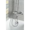 Sapho Kirké zuhanyoszlop, termosztátos kádtöltő csapteleppel, fej- és kézuzuhannyal, króm