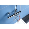 Sapho Kimura zuhanyoszlop termosztátos csapteleppel, króm