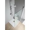 Aqualine Marco zuhanyoszlop zuhanyszettel, csapteleppel, mag.: 800-1150 mm, króm