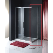 Sapho Polysan Altis Line oldalfal, 800mm, transzparent üveg