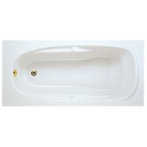 Sanotechnik Mallorca testformájú fürdőkád