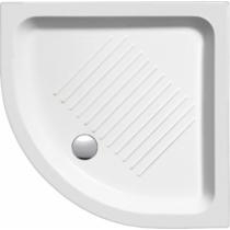 Sapho GSI kerámia íves zuhanytálca 80x80 cm 11 cm magas