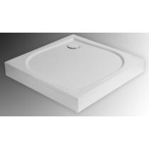 Sanotechnik Aneta 80 öntött márvány zuhanytálca