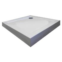 Sanotechnik Bora 80 zuhanytálca fix előlappal, szifonnal