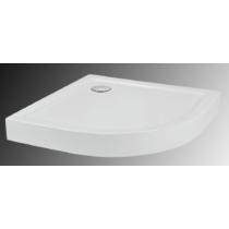 Sanotechnik Bora 80 íves zuhanytálca fix előlappal, szifonnal
