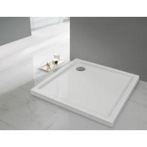 Sanplast  Bza/PR 80x80x3 fehér akril zuhanytálca
