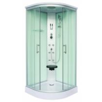 SANOTECHNIK SCALA hidromasszázs zuhanykabin, fehér