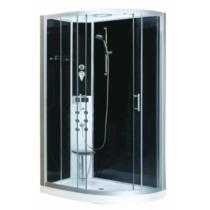 SANOTECHNIK VARIO hidromasszázs zuhanykabin elektronikával, balos kivitel