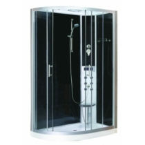 SANOTECHNIK VARIO hidromasszázs zuhanykabin elektronikával, jobbos kivitel