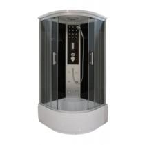 SANOTECHNIK VITA hidromasszázs zuhanykabin ülőtálcával, elektronikával