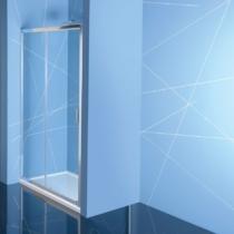Sapho Polysan Easy Line eltolható zuhanyajtó, 1000mm, transzparent üveg