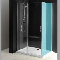 Sapho Gelco One nyíló zuhanyajtó, 1000mm, transzparent üveg