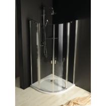 Sapho Gelco One íves zuhanykabin, 800x800mm, transzparent üveg (6mm) 190 cm magas