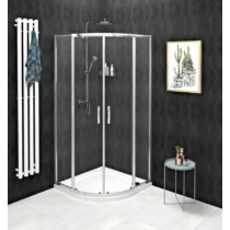 Sapho Gelco Sigma Simply íves zuhanykabin, 100 x 100 cm, R550, transzparent üveg