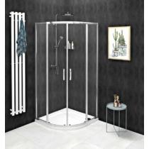 Sapho Gelco Sigma Simply íves zuhanykabin, 80 x 80 cm, R550, transzparent üveg