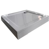 Sanotechnik Bora 80 zuhanytálca levehető előlappal, szifonnal