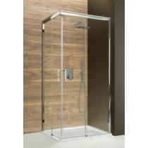 Sanplast KN/FREEZONE-80-S sbW15 szögletes zuhanykabin, tolós, sarokbelépős (5mm) 190cm magas