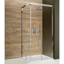 Sanplast KNP/FREEZONE-80x100-S sbW0 Jobbos szögletes zuhanykabin, tolós, sarokbelépős (5mm) 190cm magas