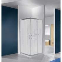 Sanplast KN/TX4b-80-S sbW14 szögletes zuhanykabin, tolós, sarokbelépős (4mm) 190cm magas