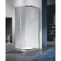 Sanplast KP1DJa/TX5b-80-S sbCR ívsbes nyílóajtós zuhanykabin (5mm) 190 cm magas