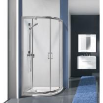 Sanplast KP2DJa/TX5b-80-S sbCR íves nyílóajtós zuhanykabin (5mm) 190 cm magas