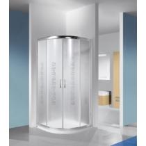 Sanplast KP4/TX4b-80-S biewW14 íves tolóajtós zuhanykabin(4 mm) 190 cm magas